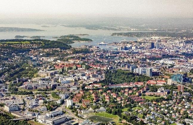 Flyfoto Bryn-Helsfyr. Foto: Nyebilder.no