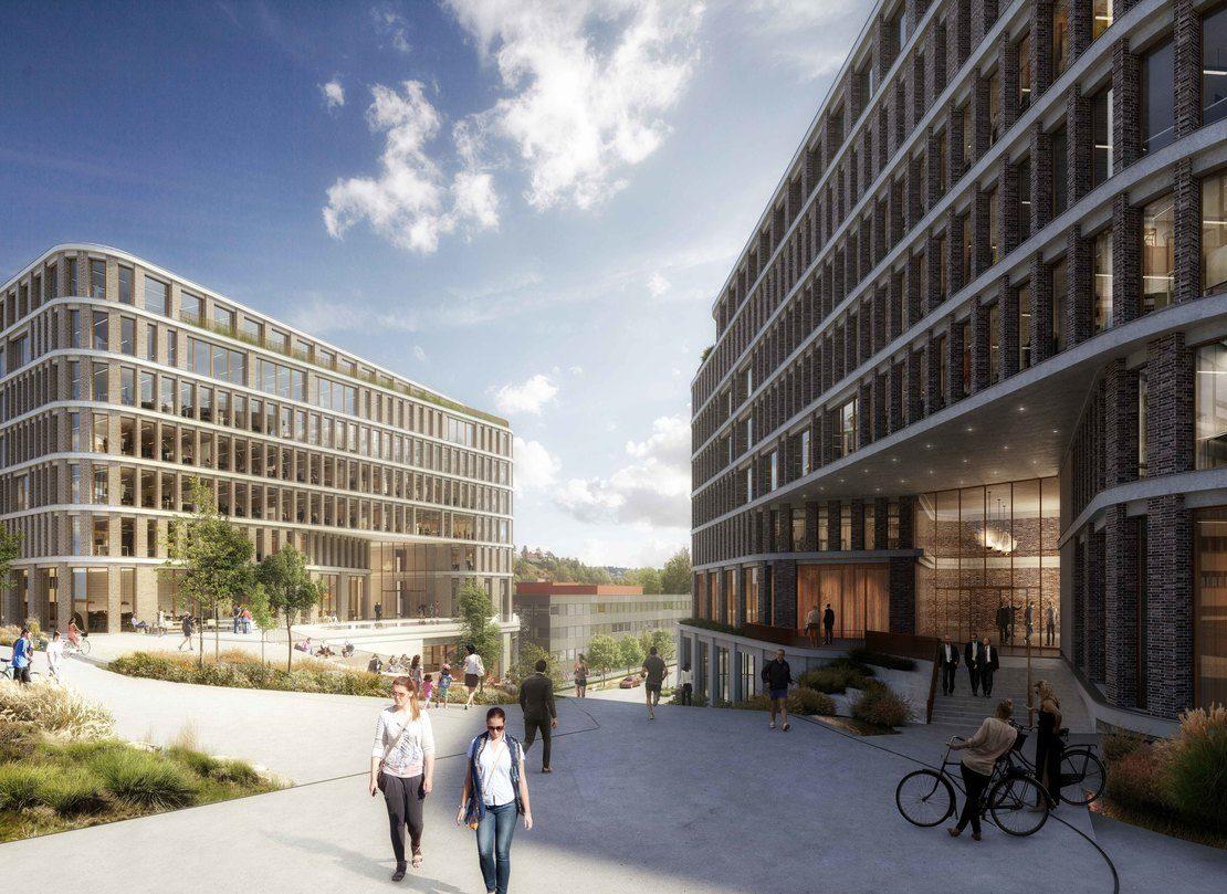 BOS Eiendom Nils Hansens vei 9-11 Arkitektillustrasjon 2