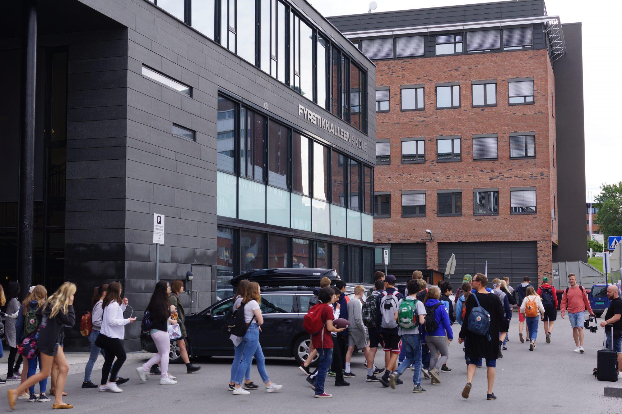 F21 Fyrstikkalleen skole, Helsfyr. Foto: Bryn-Helsfyr-samarbeidet