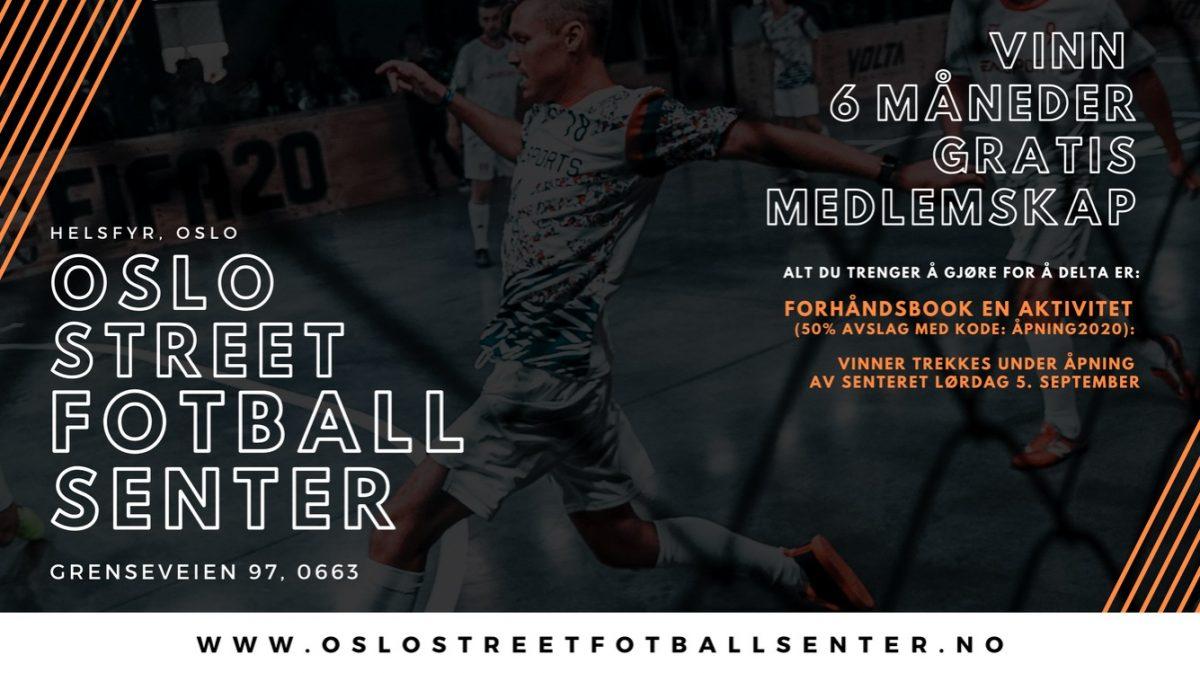 Oslo Street fotball senter 4