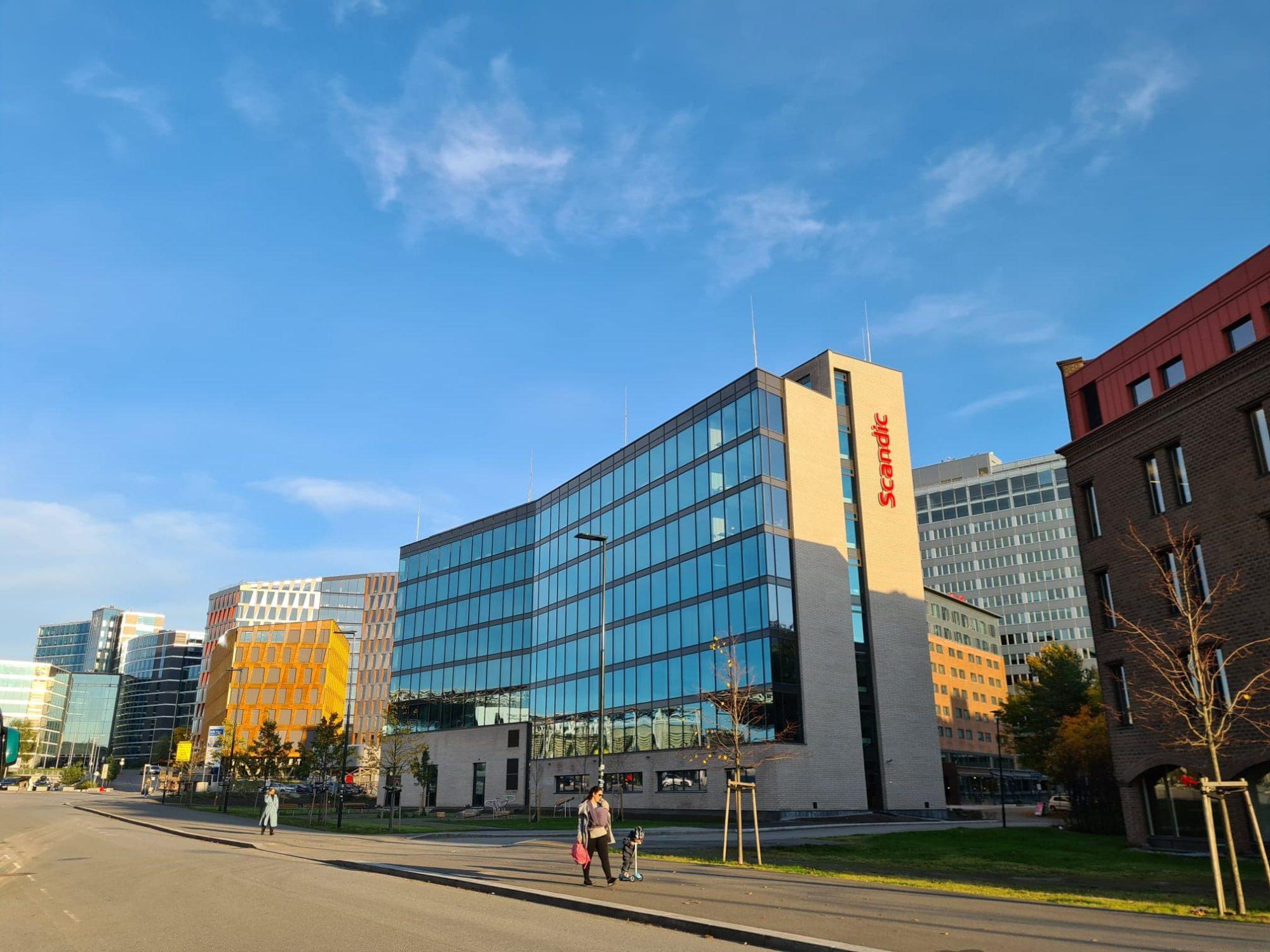 Scandic Helsfyr Ny fasade i miljø